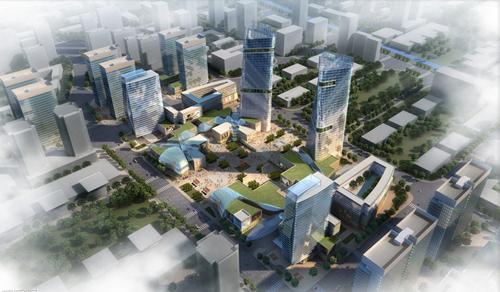 城市建筑设计院承接武功县商业网点布局规划